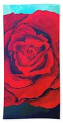 Red Velvet Beach Towel