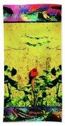 Redbird In The Valley Of Beautiful Possibilities Beach Towel