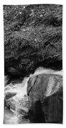Redwood Rushing Stream 2  Beach Sheet