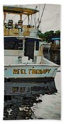 Reel Therapy Beach Towel