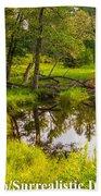 Reflected Light Beach Towel