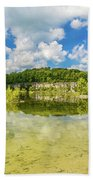 Reflecting Tranquility Beach Towel