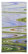 Reflection Abstract Abstract Beach Towel