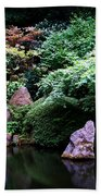 Reflection Pond  Beach Towel