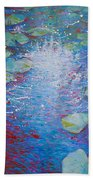 Reflection Pond With Liles Beach Towel