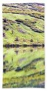 Reflections Alaska  Beach Towel