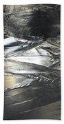 Reflections And Dark Ice #2  Beach Towel
