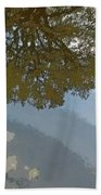 Reflections In A Lake - Poster Edges Beach Towel
