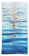 Reflections In Water Beach Towel