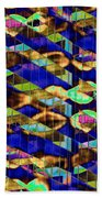 Reflections Of A City 2 Beach Towel