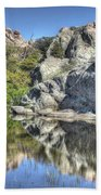 Reflections Of Beauty Beach Towel