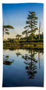 Reflections Of Dawn Beach Towel