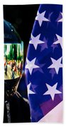 Reflections Of Rolling Thunder Beach Towel