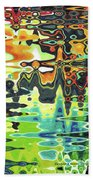 Reflections On Color Beach Towel