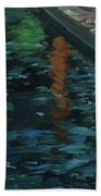 Reflective State Beach Towel