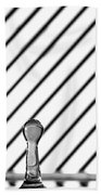 Refraction Column Beach Towel