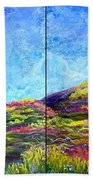Refresh And Renew As A Diptych Orientation 1 Beach Towel