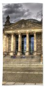 Reichstag Building  Beach Towel by Jon Berghoff