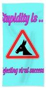 Rejecting Bigstock Donkey 171252860 Beach Towel