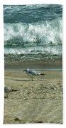 Relaxing By The Ocean Beach Towel