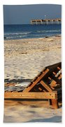 Relaxing Time Beach Towel