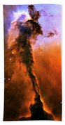 Release - Eagle Nebula 1 Beach Towel by Jennifer Rondinelli Reilly - Fine Art Photography
