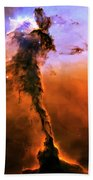 Release - Eagle Nebula 2 Beach Towel by Jennifer Rondinelli Reilly - Fine Art Photography
