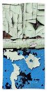 Remains Of A Door Beach Sheet