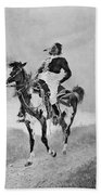 Remington: Comanche, C1890 Beach Towel