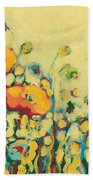 Reminiscing On A Summer Day Beach Towel by Jennifer Lommers