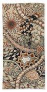 Renaissance Tangle Art Beach Towel