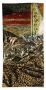 Renoir: Odalisque, 1870 Beach Towel