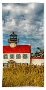 Renovated East Point Lighthouse Beach Towel