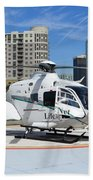 Rescue Helocopter Beach Towel