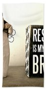 Rescued Is My Favorite Breed And The Angel Beach Towel