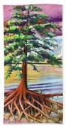 Resilient Cypress Beach Towel