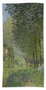 Rest Along The Stream - Edge Of The Wood Beach Towel