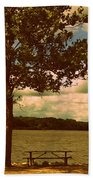 Rest Beach Towel by Diane Reed