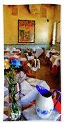 Restaurant In Red Bank 2 Beach Towel
