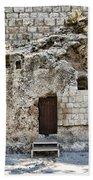 Resurrection - Garden Tomb Beach Towel