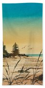 Return To The Shore Beach Towel