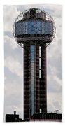 Reunion Tower - Dallas Texas Beach Towel