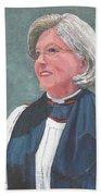 Reverend Mary Gregorius Beach Towel