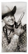 Rex Allen, Vintage Actor Beach Towel