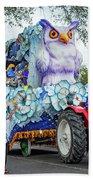 Rex Mardi Gras Parade Iv Beach Towel