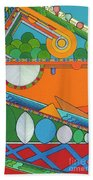 Rfb0425 Beach Towel