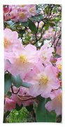 Rhododendron Flowers Garden Art Prints Floral Baslee Troutman Beach Towel