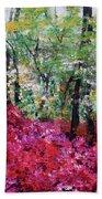 Rhododendron Glade Norfolk Botanical Garden 201821 Beach Towel