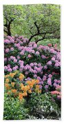 Rhododendron Hill Beach Towel