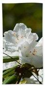 Rhododendron II Beach Towel